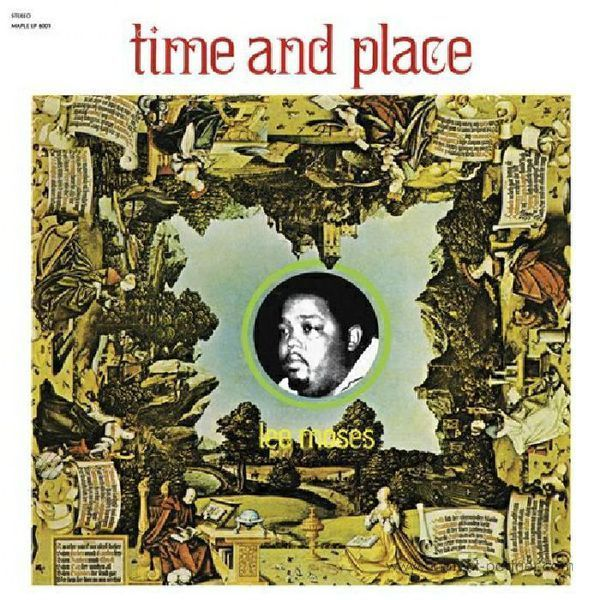 Lee Moses - Time and Place (Back)