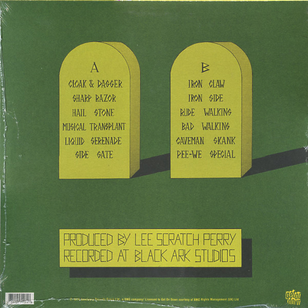Lee Perry & The Upsetters - Cloak And Dagger (Reissue) (Back)