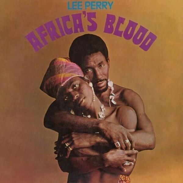 Lee Perry - Africa's Blood (Black Vinyl Reissue LP)