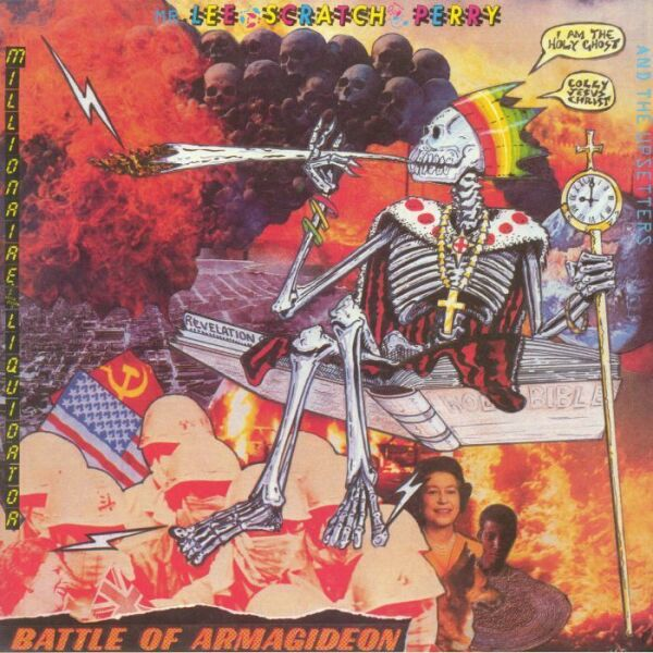 Lee Scratch Perry - Battle of Armagideon (Ltd. Orange Vinyl LP) (Back)