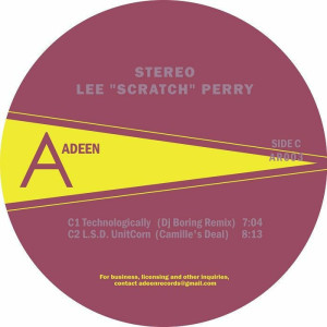 Lee Scratch Perry - Technomajikal: Rebuilt (Camille/DJ Boring mixes) (Back)