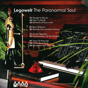 Legowelt - The Paranormal Soul (Repress) (Back)