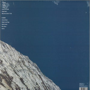 Leifur James - A Louder Silence (Black Vinyl LP) (Back)