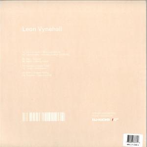 Leon Vynehall - DJ Kicks (CD) (Back)
