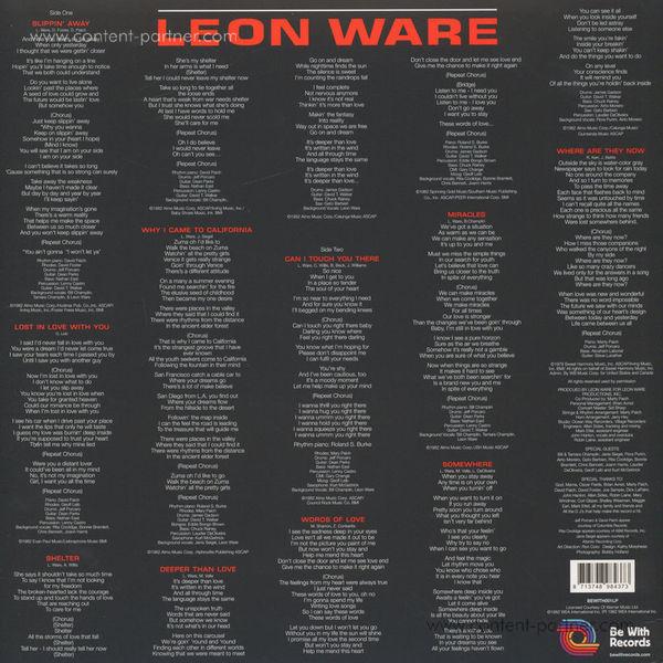 Leon Ware - Leon Ware (Back)