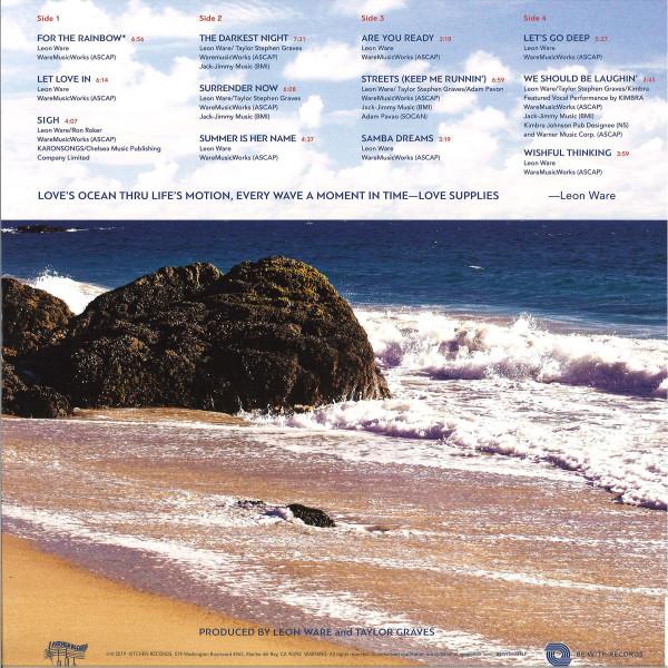 Leon Ware - Rainbow Deux (2LP, GF, 140g) (Back)
