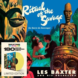 Les Baxter - Ritual of hte Savage (Coloured Vinyl LP + 2 Bonus)