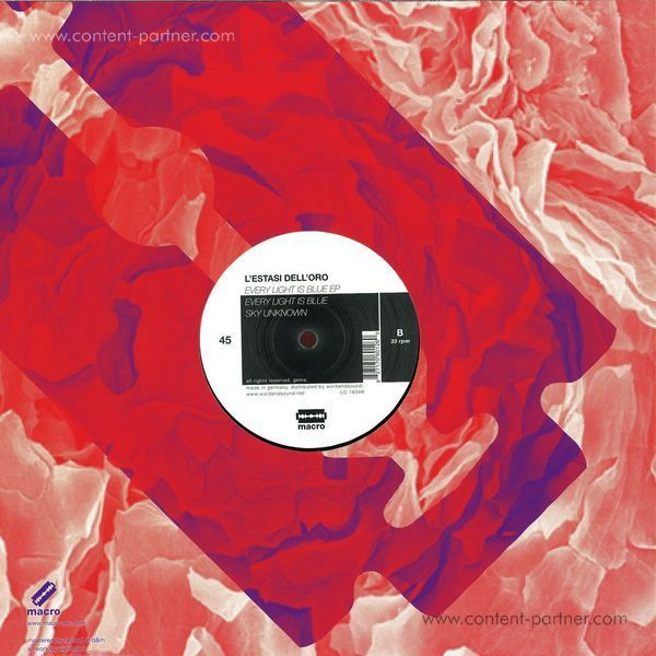 L'estasi Dell'oro - Every Light Is Blue EP (Back)