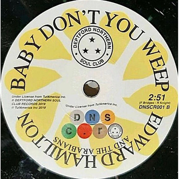 Lester Tipton / Edward Hamilton And The Arabians - This Won't Change / Baby Don't You Weep (Back)
