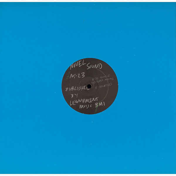 Levon Vincent - The Sound Of People Moving / Fricatives (Back)