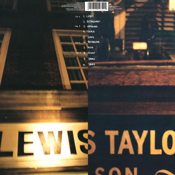 Lewis Taylor - Lewis Taylor (2021 Reissue 2LP) (Back)
