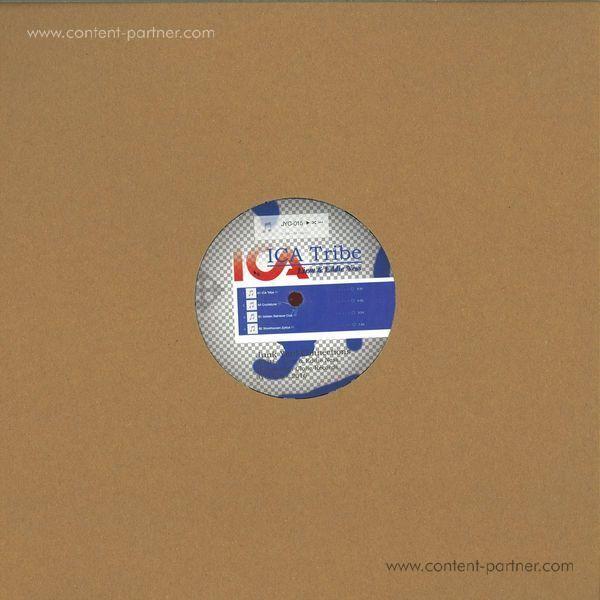 Liem & Eddie Ness - Ica Tribe EP (Back)