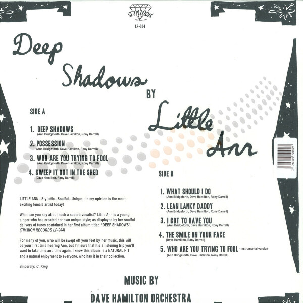 Little Ann - Deep Shadows (Back)