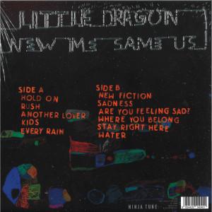 Little Dragon - New Me, Same Us (140g LP+MP3) (Back)
