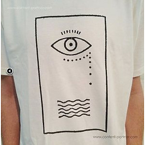 Lobster Theremin Route 8 - LT Route 8 Hieroglyphic T-shirt (Size S)