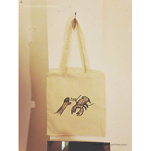 Lobster Theremin - Tote Bag