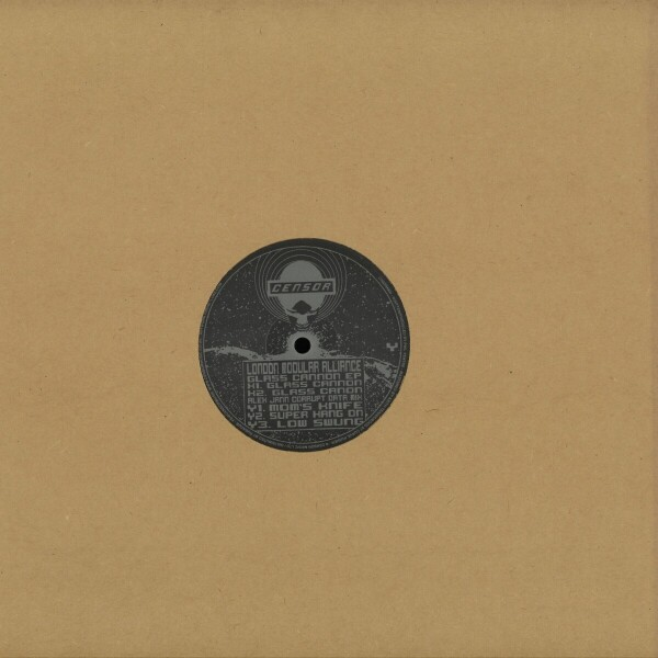 London Modular Alliance - Glass Cannon EP (Back)
