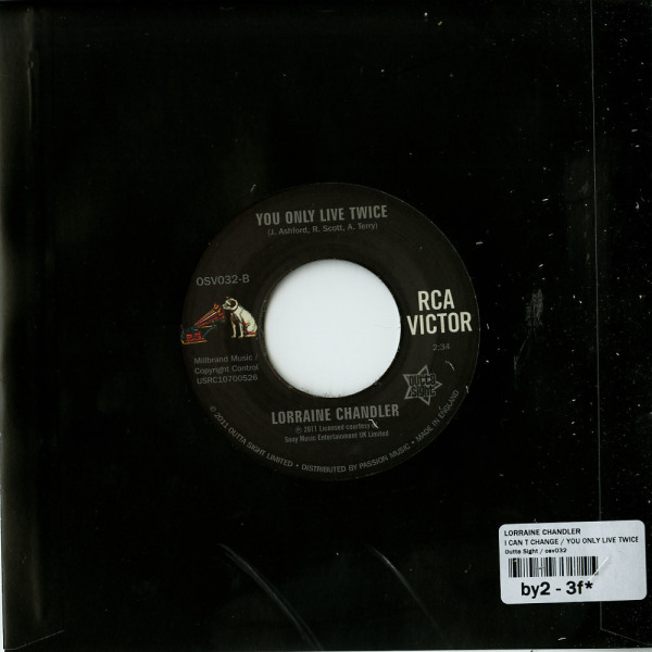 Lorraine Chandler - I Can't Change (Back)