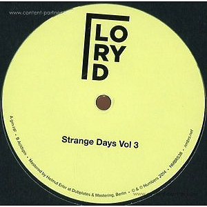 Lory D - Strange Days Vol. 3 (Repress 2017)