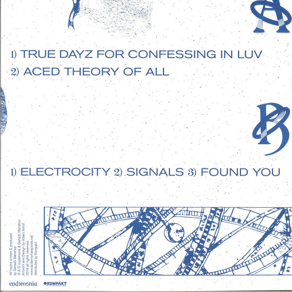 Low Tape - True Dayz For Confessing In Luv (Back)