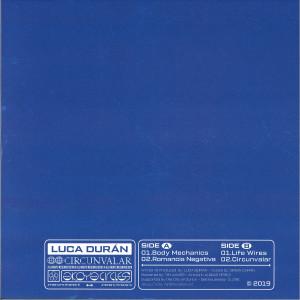 Luca Duran - Circunvalar (Back)
