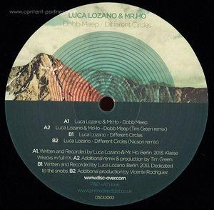 Luca Lozano & Mr.ho - Dobb Meep / Different Circles
