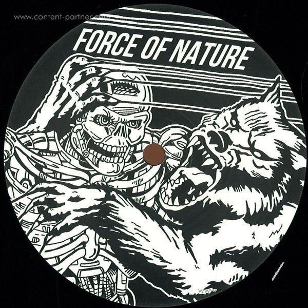Luke Haze - Force Of Nature Ep (Back)