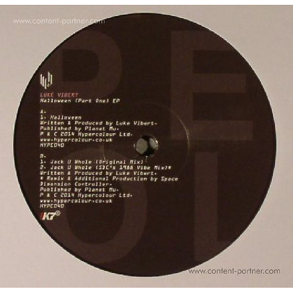 Luke Vibert - Halloween (Part One) EP