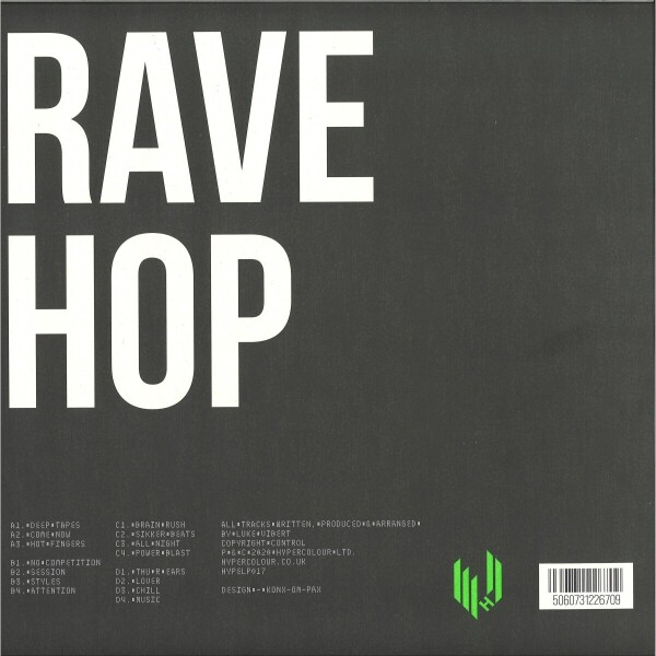 Luke Vibert - Luke Vibert presents… Rave Hop (Back)
