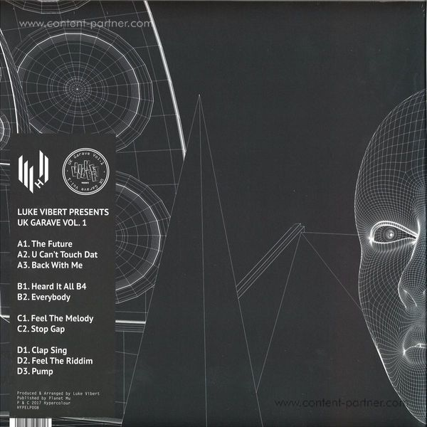 Luke Vibert - UK Garave 1 (2LP+MP3) (Back)