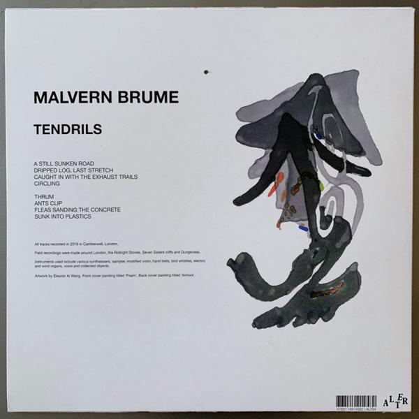 MALVERN BRUME - TENDRILS (Back)
