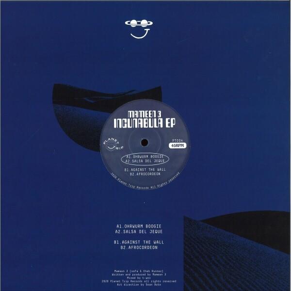 MAMEEN 3 - INCUNABULA EP (Back)