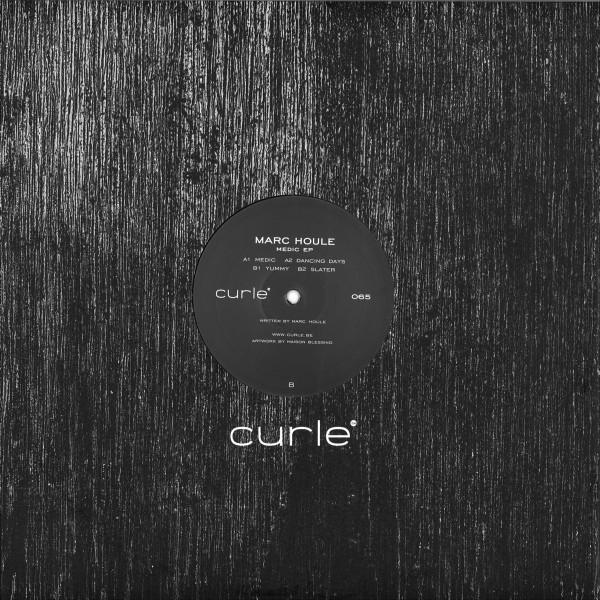 MARC HOULE - MEDIC EP (Back)