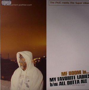 MF Doom - My Favorite Ladies (Repr. Orange Vinyl)
