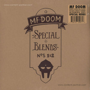 MF Doom - Special Blends Vol. 1&2 (Ltd. 2LP reissue)
