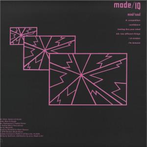 MODE I / Q - Mind/Soul (Back)