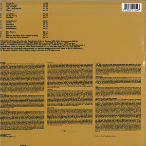 MOLOKO - Do You Like My Tight Sweater (Ltd. Turquoise 2LP) (Back)