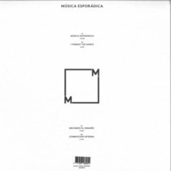 MÚSICA ESPORÁDICA - S/T (Back)