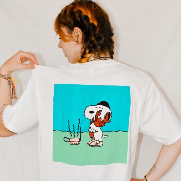 Ma Bae Be Luv T-shirt - White Short Sleeve T-Shirt S (Back)