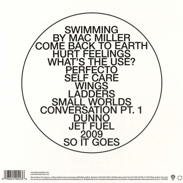 Mac Miller - Swimming (2LP) (Back)