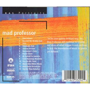 Mad Professor - Portrait (Back)