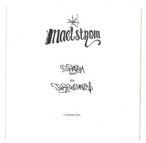 Maelstrom - SPASM / TURBULENCE (Back)