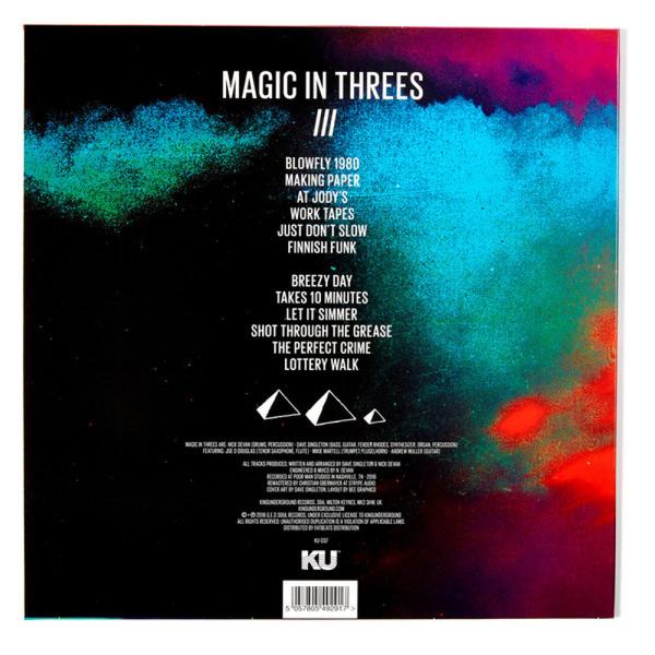Magic In Threes - 3 (LP) (Back)