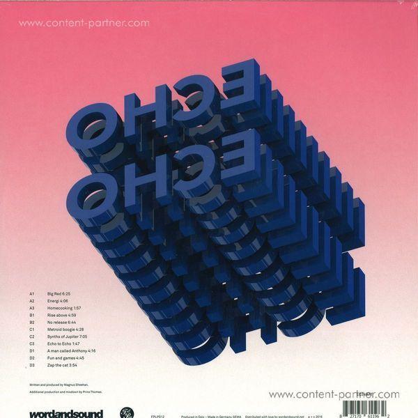 Magnus International - Echo To Echo (2lp+mp3) (Back)