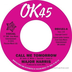 Major Harris / Walter Jackson - Call Me Tomorrow / Where Have All The Flowers Gone