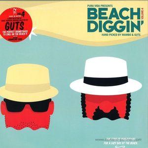 Mambo & Guts Present - Beach Diggin' Vol. 4 (2LP+DL)