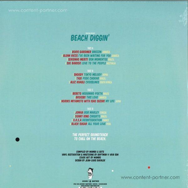 Mambo & Guts Present - Beach Diggin' Vol. 4 (2LP+DL) (Back)