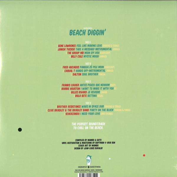 Mambo & Guts present - Beach Diggin' Vol. 3 (2LP Reissue) (Back)
