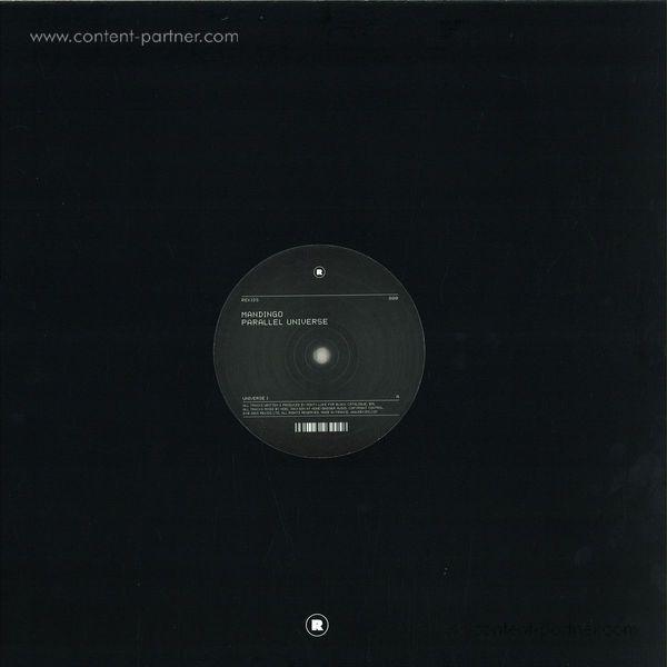 Mandingo - Parallel Universe EP (Back)