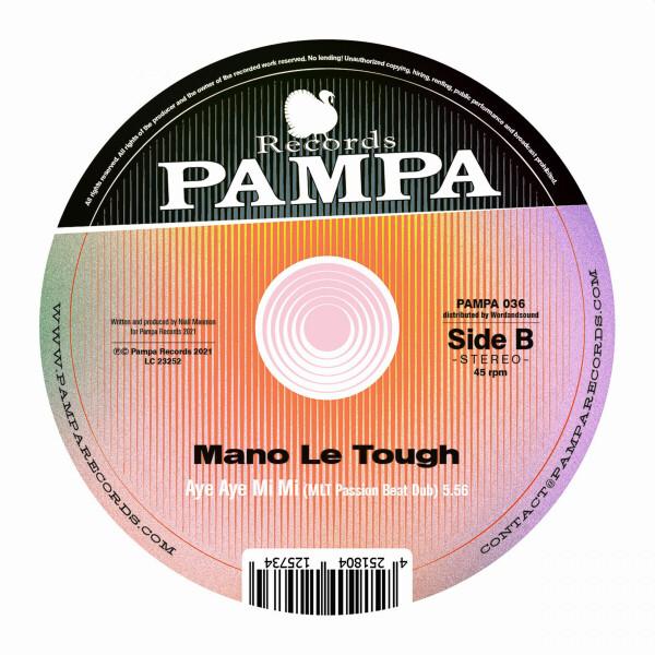 Mano Le Tough - Aye Aye Mi Mi (Back)